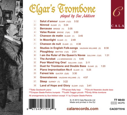CD Cover Elgar